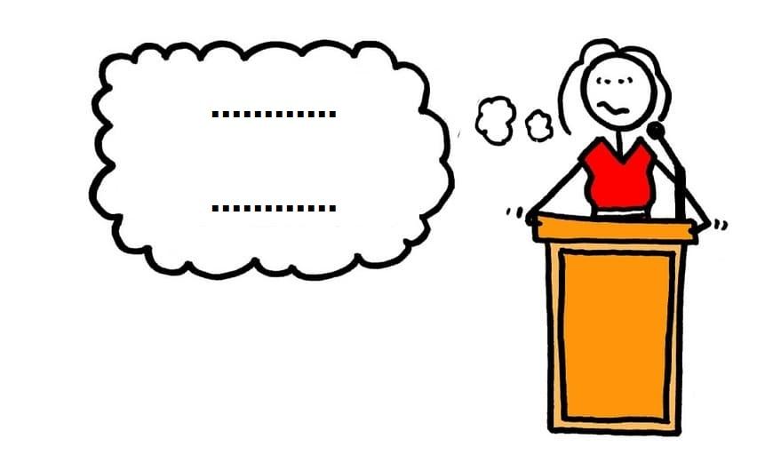 چگونه متن سخنرانی را فراموش نکنیم