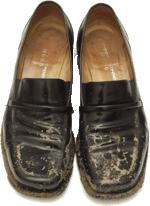 کفش کثیف سخنران