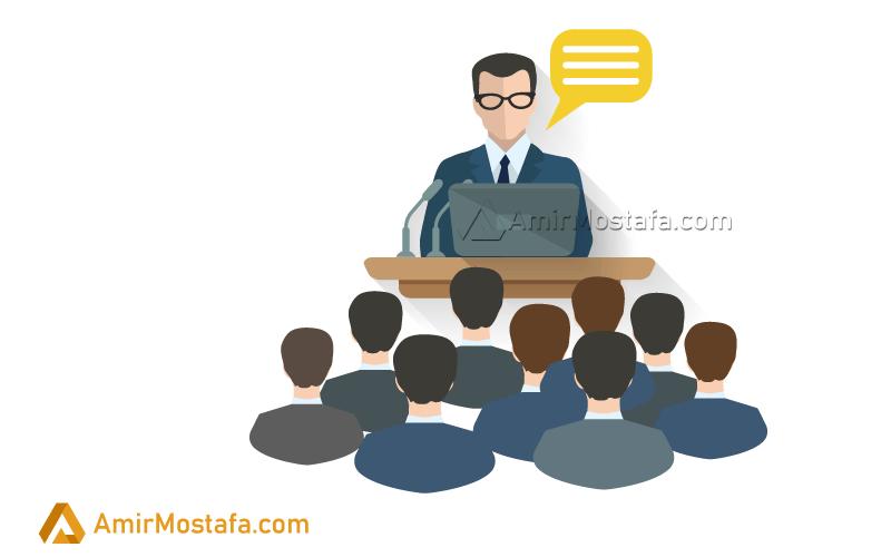 انواع سخنران هنگام سخنرانی کردن