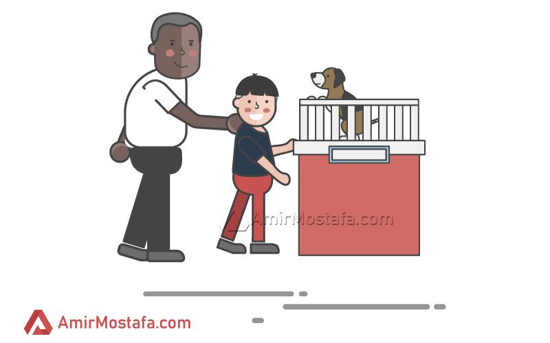 فروش به روش توله سگی – تکنیک های فروش