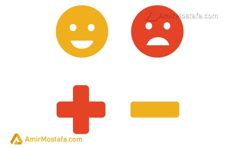 اثرات سخنان منفی و مثبت